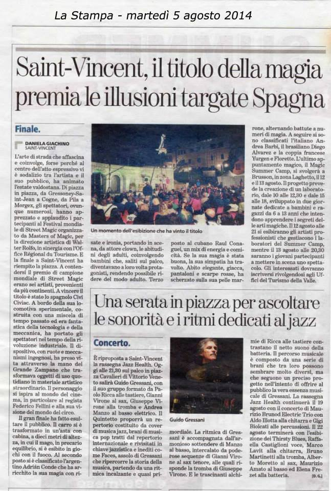 Periódico italiano se hace eco de la noticia